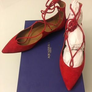 Aquazzura Firenze christy flat